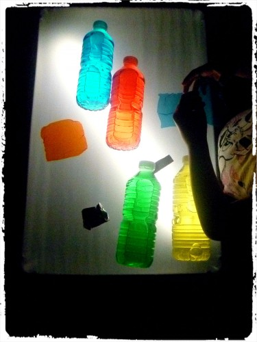 Activité table lumineuse #1