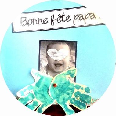 Une carte pour la fete des papas, à fabriquer avec les enfants