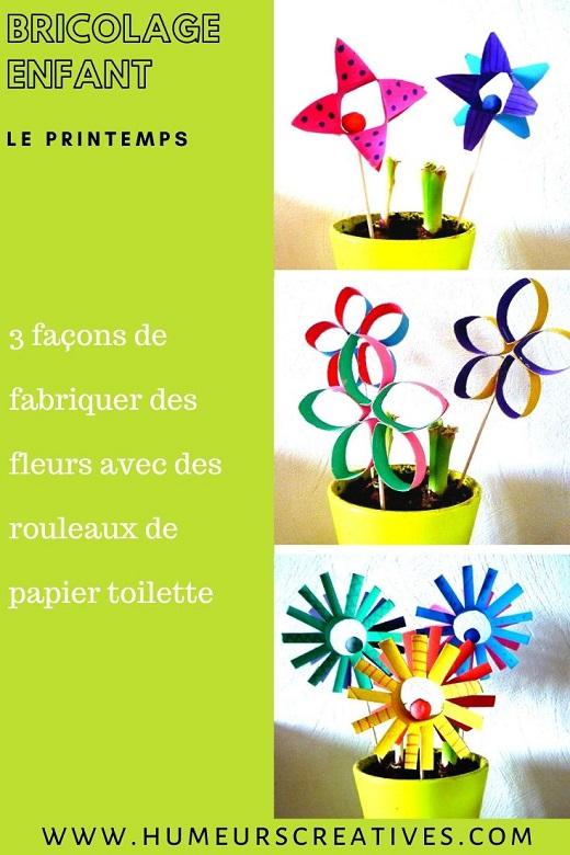 3 façons de fabriquer des fleurs avec des rouleaux de papier toilette