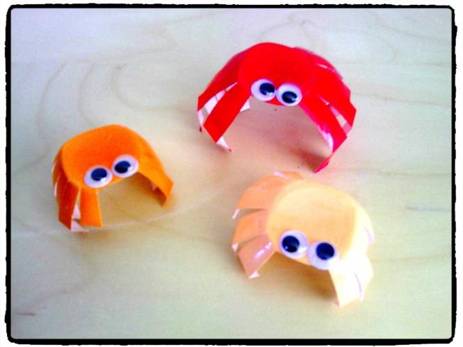 Pincent, pincent, petits crabes...