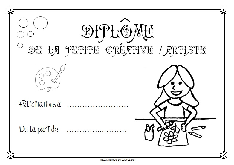 Diplome creative