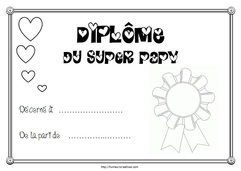Diplome super papy