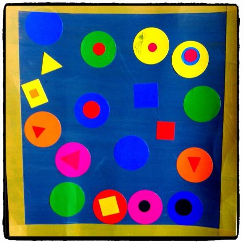 Des formes et des couleurs