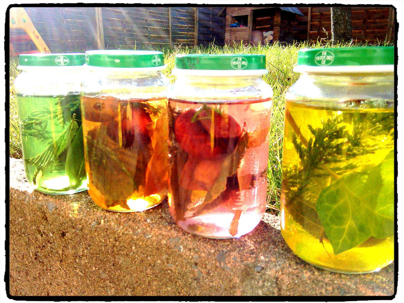 des pots sensoriels aux couleurs de l'automne - humeurs créatives