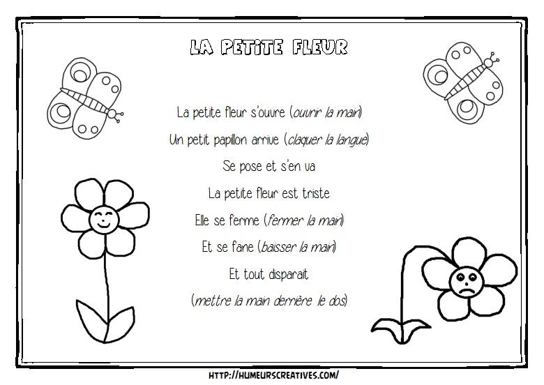 Illustration La petite fleur