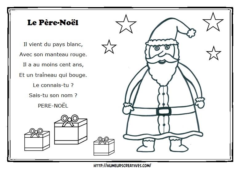 Comptines et chansons - Pere noel maternelle ...