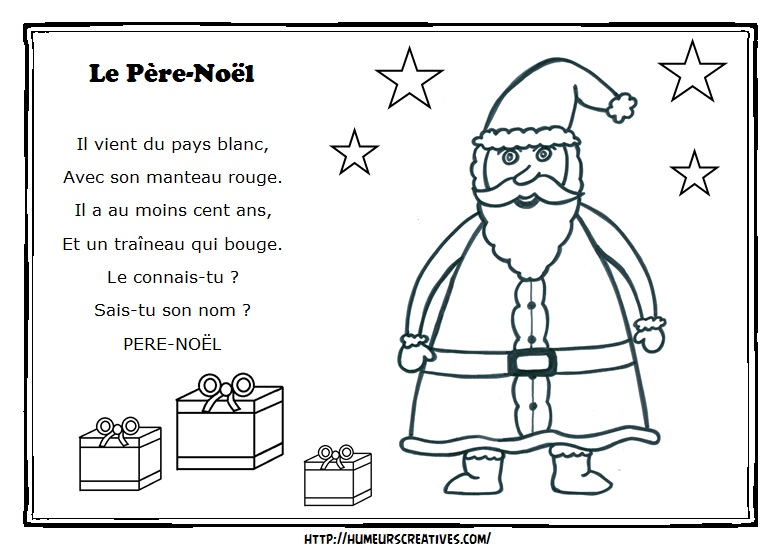 Illustration le pere noel