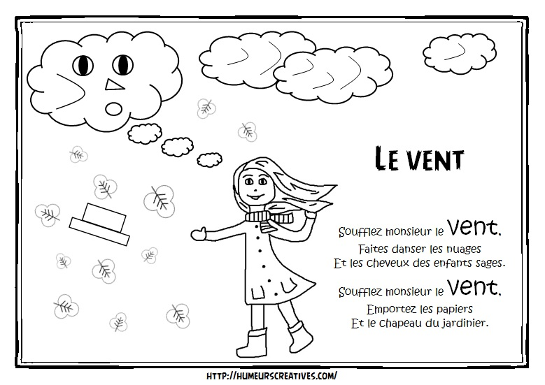 Illustration le vent