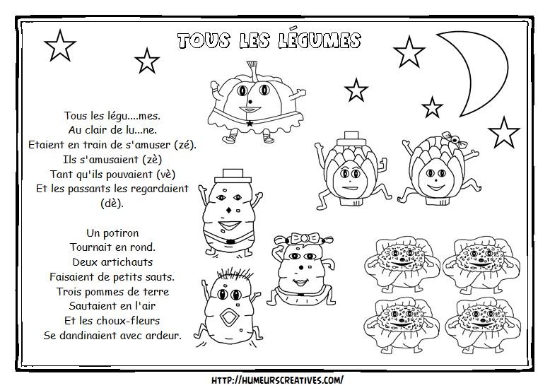 Illustration tous les légumes