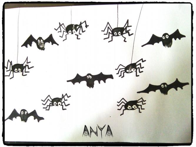 Petites chauves-souris et petites araignées
