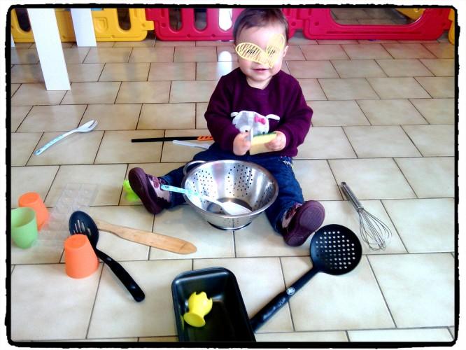 A la découverte des objets de la cuisine...