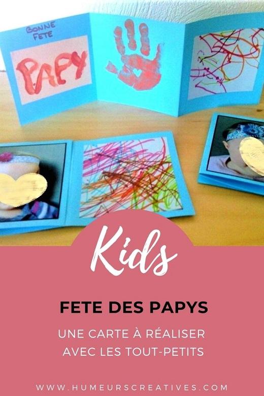 Bricolage pour enfants : une carte à offrir pour les tout-petits