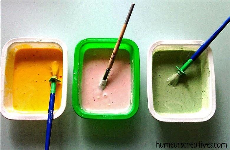 la recette de la peinture gonflante