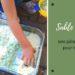 activité pâte à modeler pour enfants : réaliser du sable de lune maison