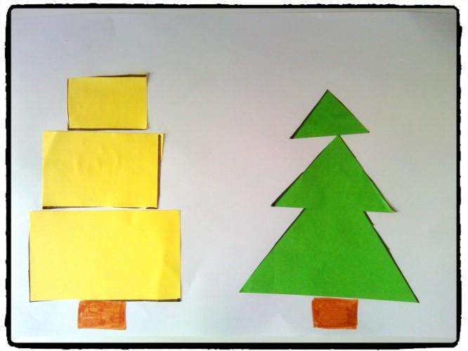 Des arbres géométriques