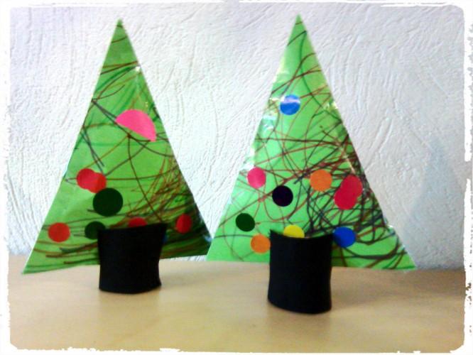 Des sapins de Noël moelleux