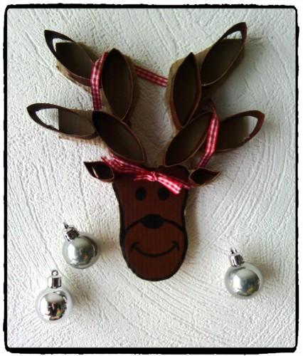 Un renne de Noël décoré !