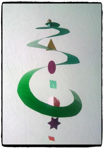 Un tourbillon de sapin de Noël
