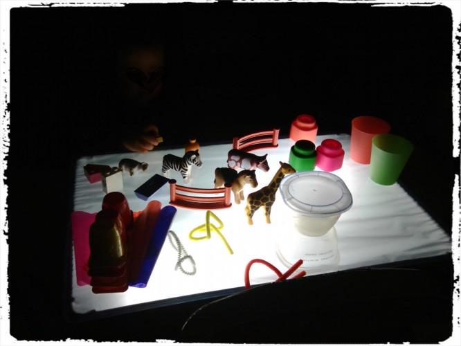 Activité table lumineuse #2