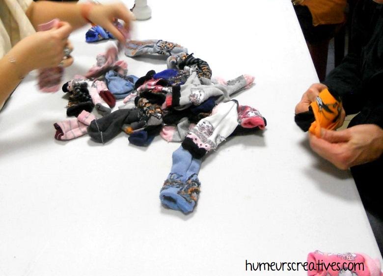 jeu dobby : associer les bonnes chaussettes