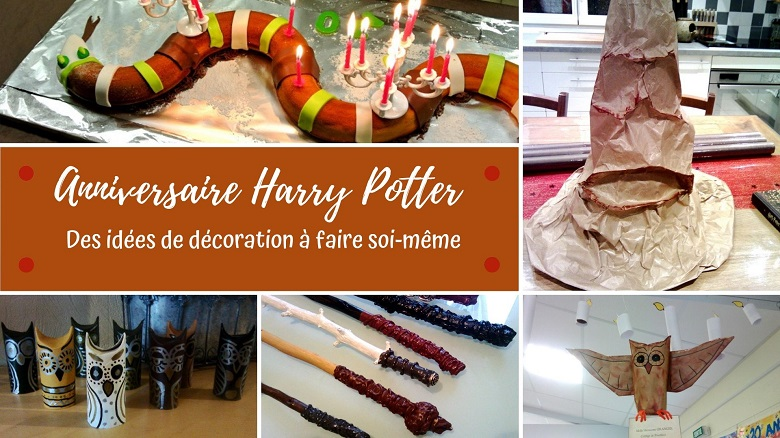 Anniversaire Sur Le Theme D Harry Potter La Decoration