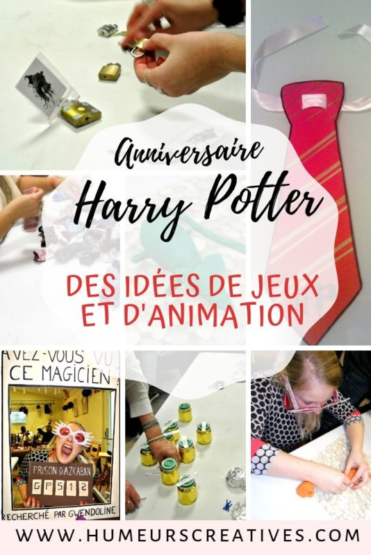 Idées de jeux et animations pour organiser un anniversaire Harry Potter