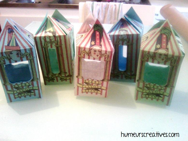 construction d'une boite à bonbons bertie crochue