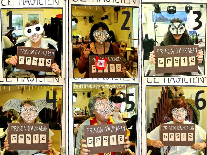 photobooth harry potter déguisement