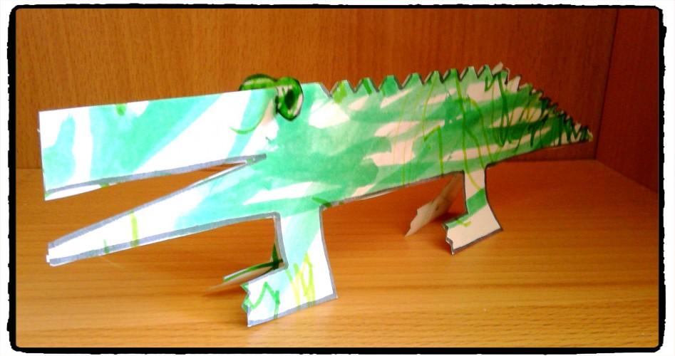 Ah le crococo, le crococo, le crocodiiiiile...