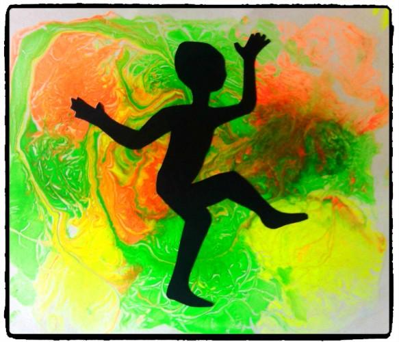 La danse du petit africain