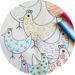 Exercice graphisme pour enfants : poules de paques à imprimer