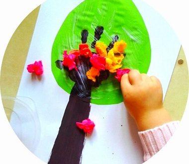Bricolage de printemps : créer un arbre printanier facilement avec les enfants
