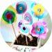 Bouquet de fleurs en filtre à café à réaliser avec les enfants