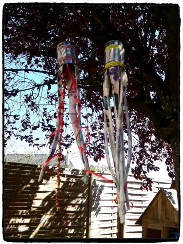Recyclage : une décoration de jardin
