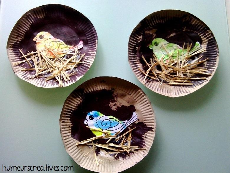 bricolage nid oiseaux