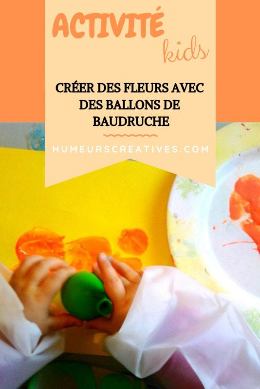 créer de jolies fleurs avec des ballons de baudruche