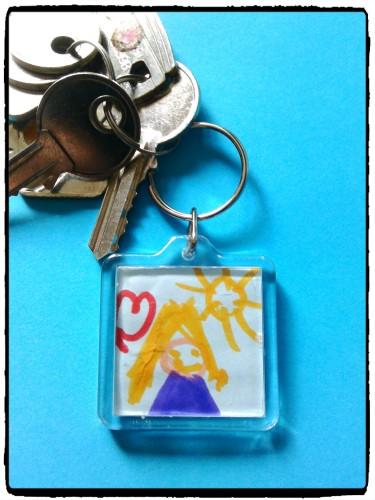 Un porte clé, un cadeau personnalisé à offrir