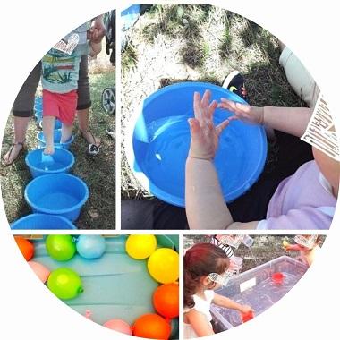 jeux d'eau pour enfants pour se rafraichir et s'amuser