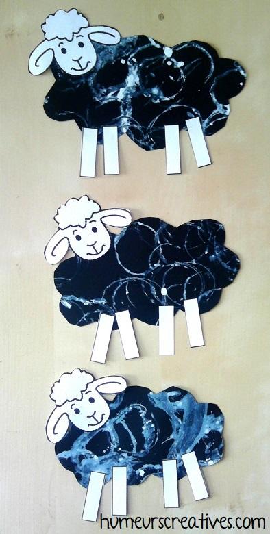 nos moutons jouent à saute moutons
