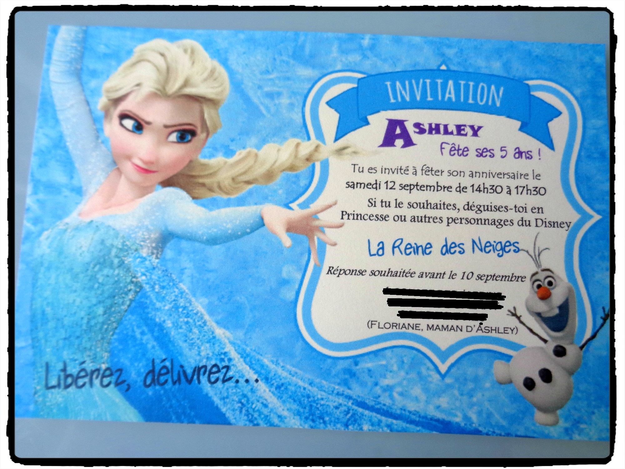 modele invitation anniversaire reine des neiges document online. Black Bedroom Furniture Sets. Home Design Ideas