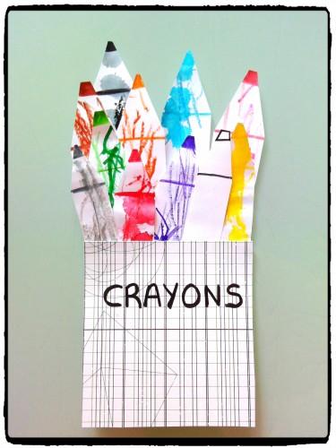 Nos crayons de couleurs