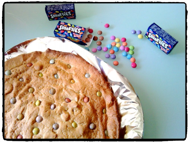 One Pan Cookie ou Pizookie aux smarties