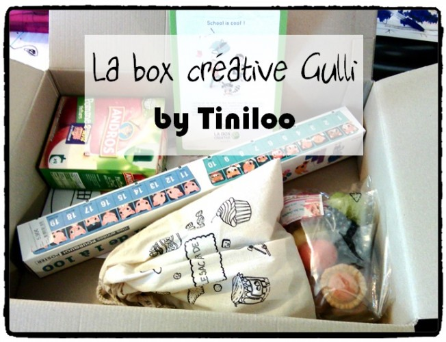 La Box Créative Gulli by Tiniloo