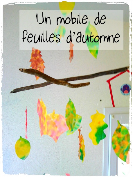 mobile feuilles automne