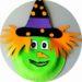 Bricolage d'Halloween : réalisé une sorcière avec une assiette en carton