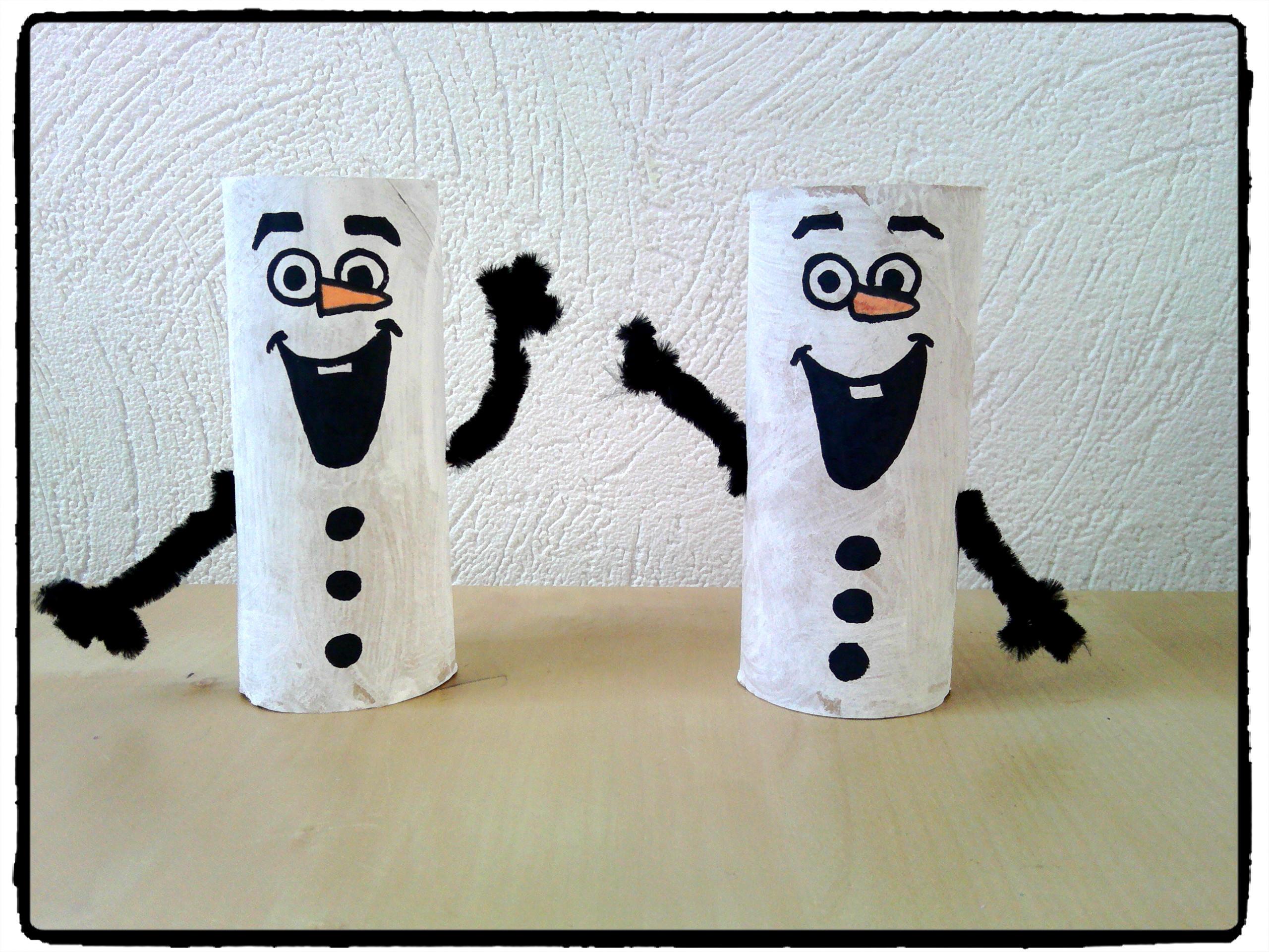 Assez Olaf en rouleau de papier de toilette - Mes humeurs créatives by Flo JO84