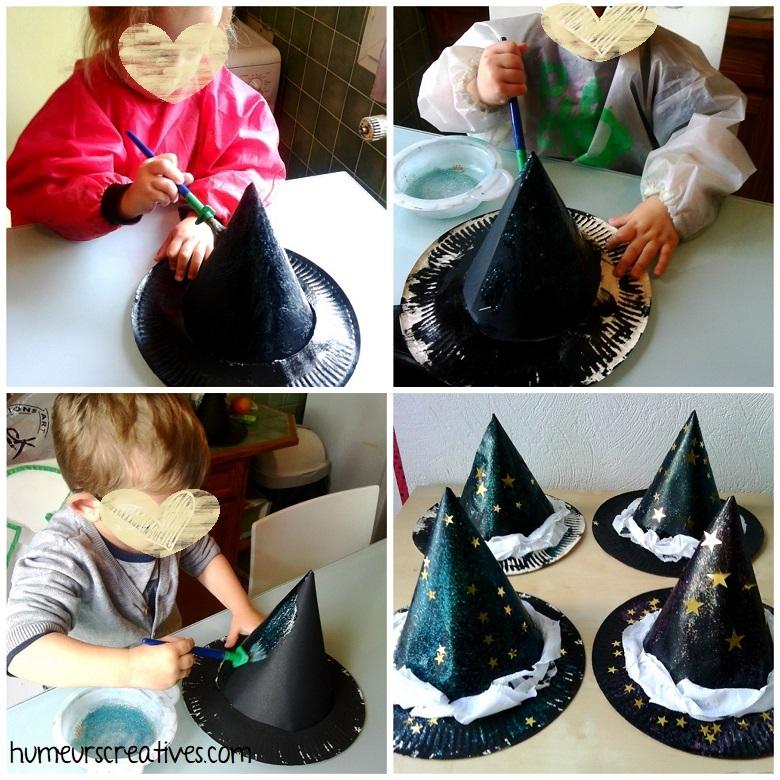 décoration du chapeau de sorcier