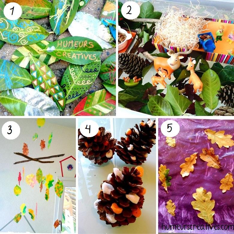 idées bricolages pour enfants à faire avec la nature (1)