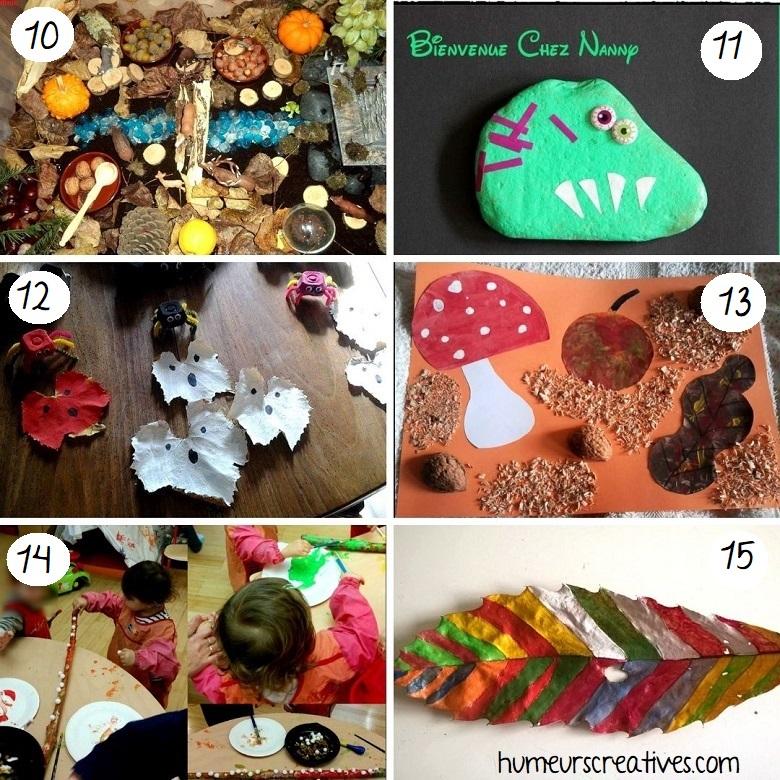 idées bricolages pour enfants à faire avec la nature (3)