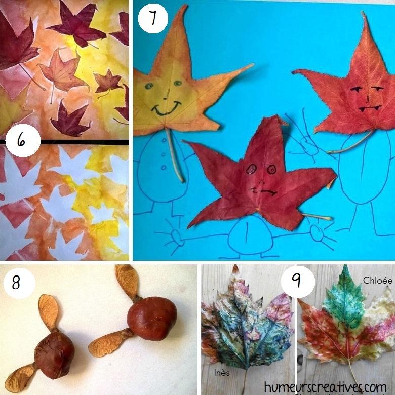 idées bricolages pour enfants à faire avec la nature (2)